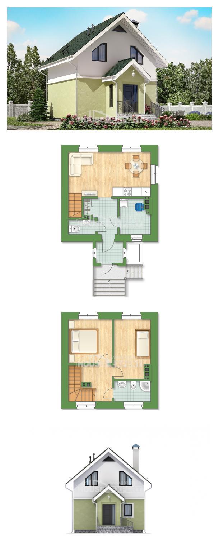 Проект дома 070-001-П   House Expert